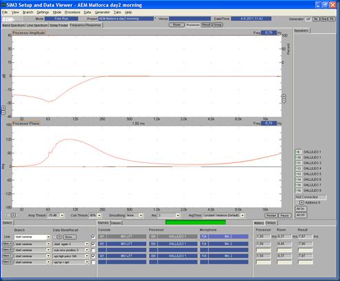Start M3 03 UPJ   UPJ high-pass @168 result window processor edit