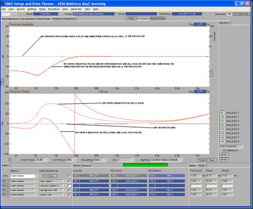 Start M3 04 UPJ   UPJ high-pass @168   UPJ high-pass & all-pass result window processor edit