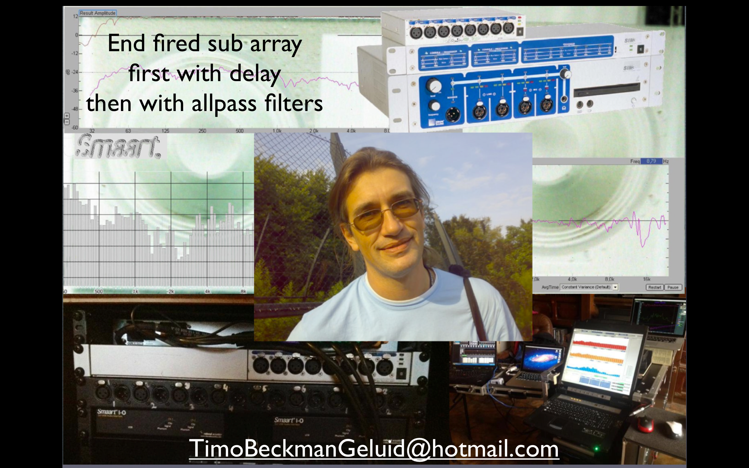 End Fired Sub Array First With Delay Then 2nd Order All Pass Filters 001