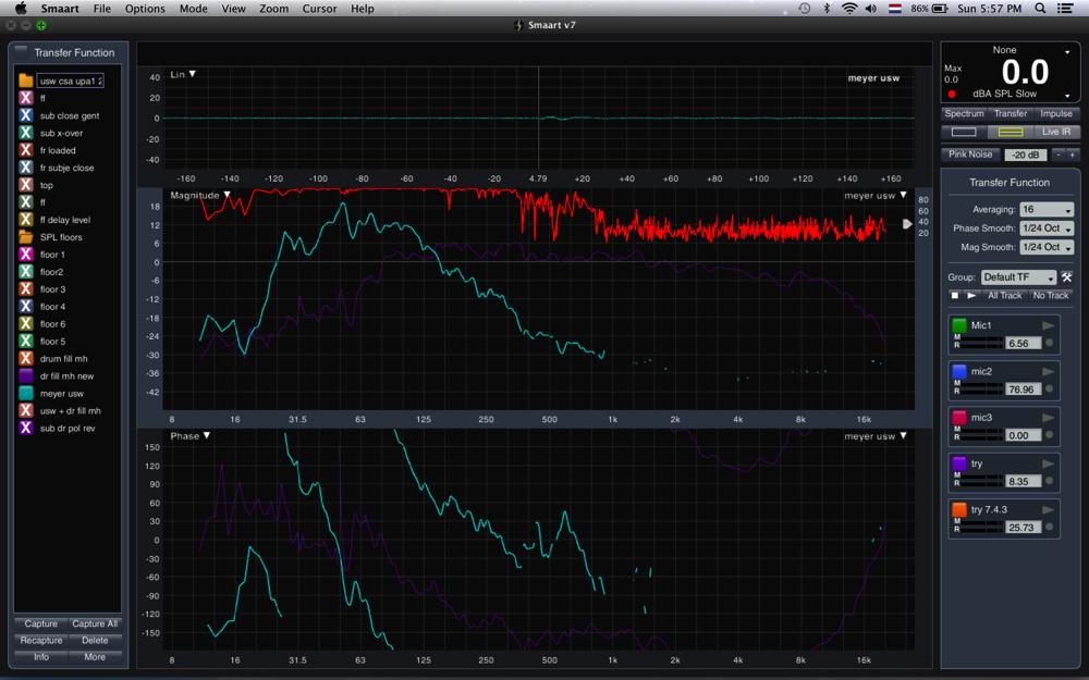 USW no filters vs MH monitor
